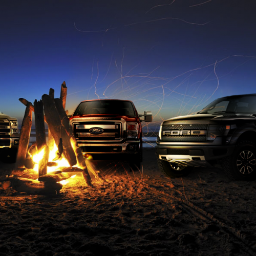 Truck Bonfire Meetup