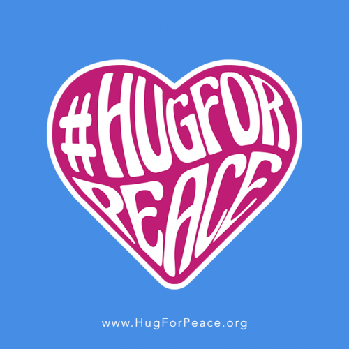 #HugForPeace