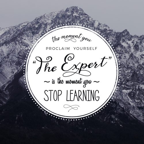 The Expert Quote Graphic