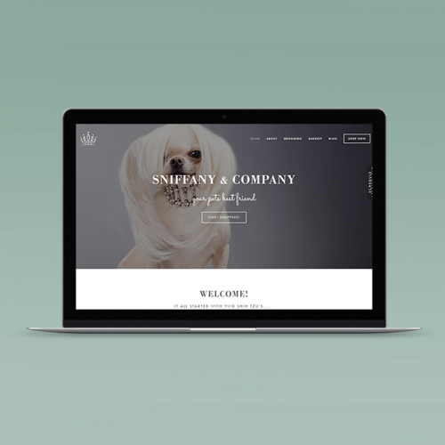 Sniffany and Company Website