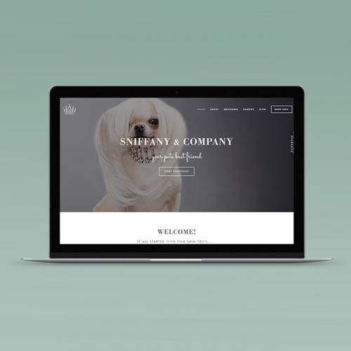 Sniffany and Company Website