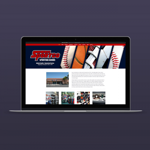 Sportco Sporting Goods Web