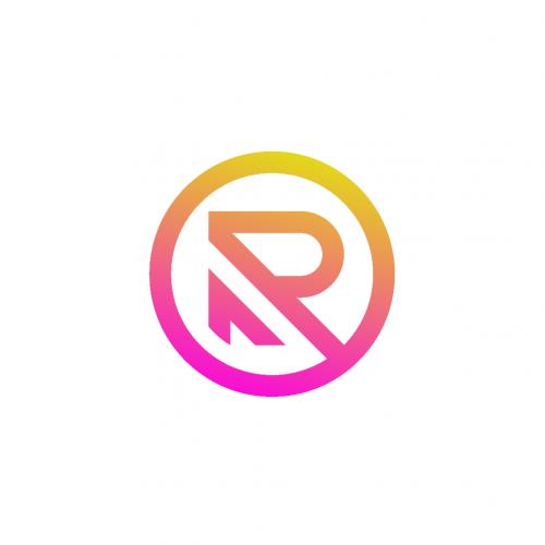 R Circle Logo Icon