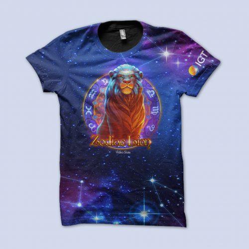 Zodiac Lion TShirt
